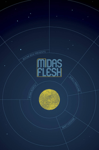 The Midas Flesh #1 (ECCC Exclusive Cover)