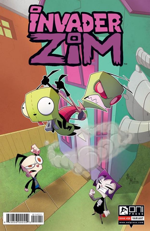 Invader Zim #14 (Martin Cover)