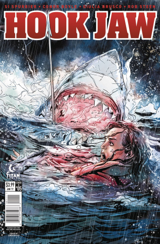 Hookjaw #5 (Laming Cover)