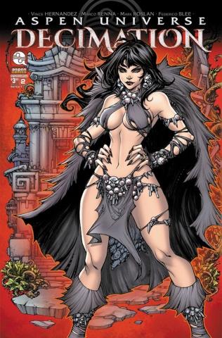 Aspen Universe: Decimation #2 (Pantalena Cover)