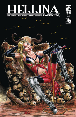 Hellina: Ravening #2 (Deadly Beauty Cover)