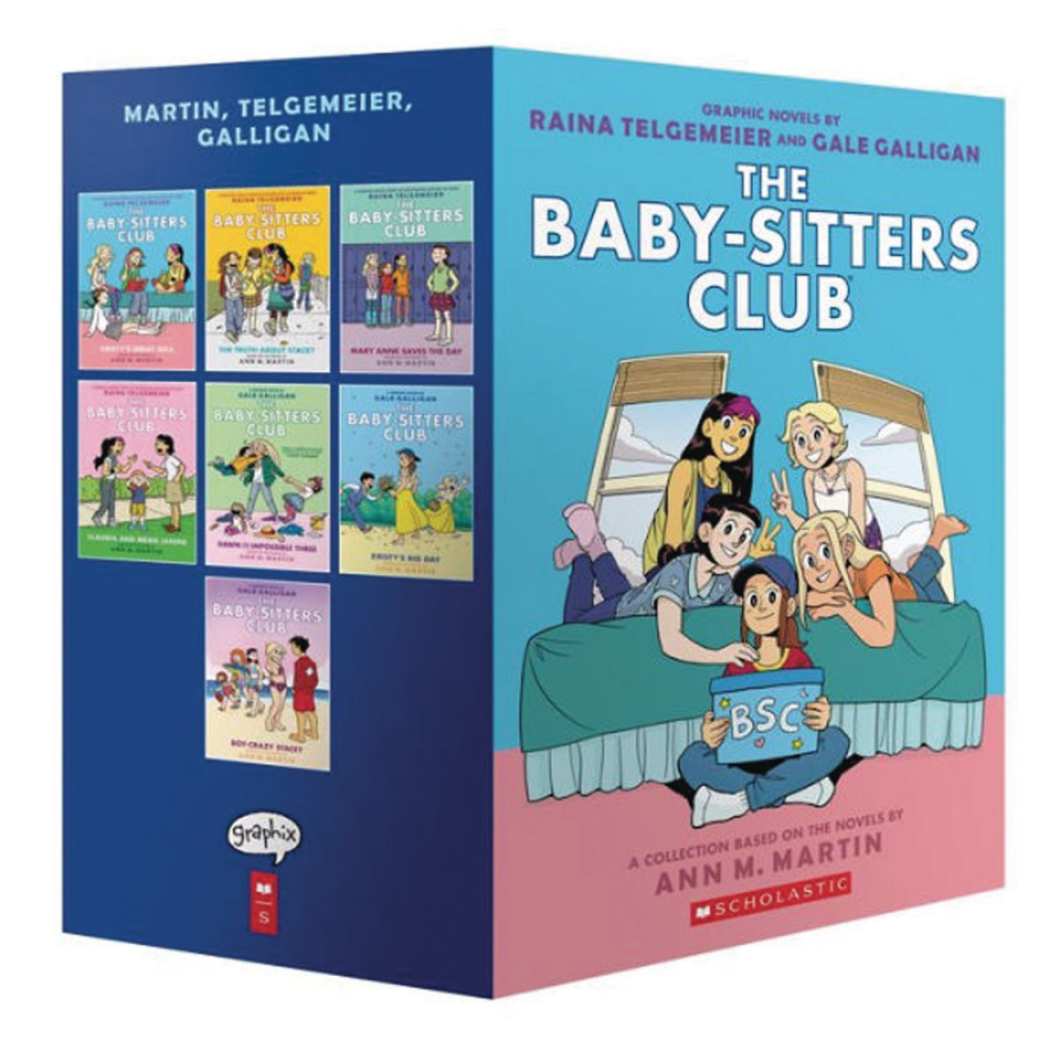 The Baby-Sitters Club Box Set Vols. 1-7 (Color Edition)
