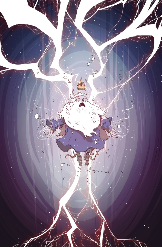 Adventure Time: The Ice King #5 (Subscription Falardeau Cover)