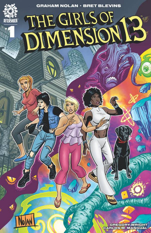 The Girls of Dimension 13 #1 (15 Copy Nolan Cover)