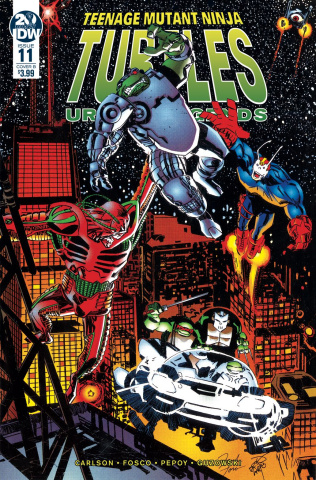 Teenage Mutant Ninja Turtles: Urban Legends #11 (Fosco & Larsen Cover)