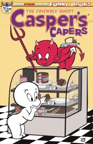 Casper's Capers #1 (Scherer Cover)