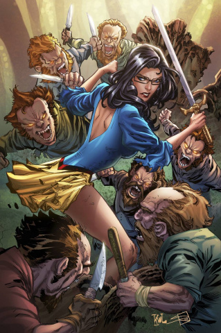 Grimm Fairy Tales Snow White 10th Anniversary Special (Lashley Cover)