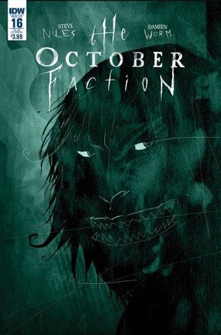 The October Faction #16 (Subscription Cover)