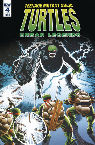Teenage Mutant Ninja Turtles: Urban Legends #4 (Fosco Larsen Cover)