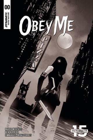 Obey Me #0 (10 Copy Herrera B&W Cover)