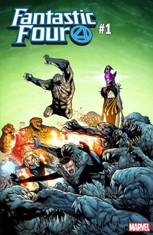 Fantastic Four #1 (Ramos Cover)