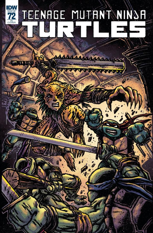 Teenage Mutant Ninja Turtles #72 (10 Copy Cover)
