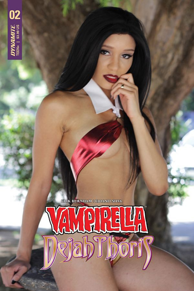 Vampirella / Dejah Thoris #2 (Vampirella Cosplay Cover)