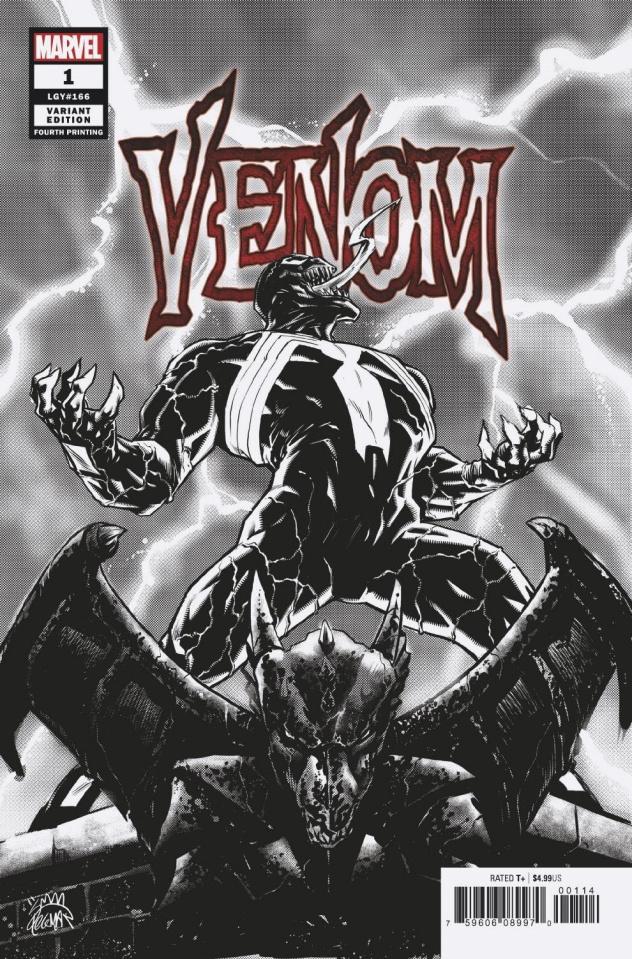 Venom #1 (Stegman 4th Printing)