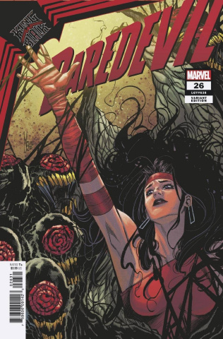 Daredevil #26 (Checchetto Elektra Cover)