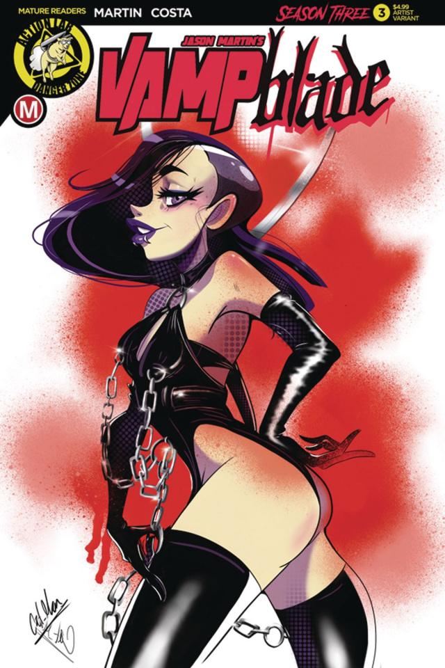 Vampblade, Season Three #3 (Salcedo Cover)
