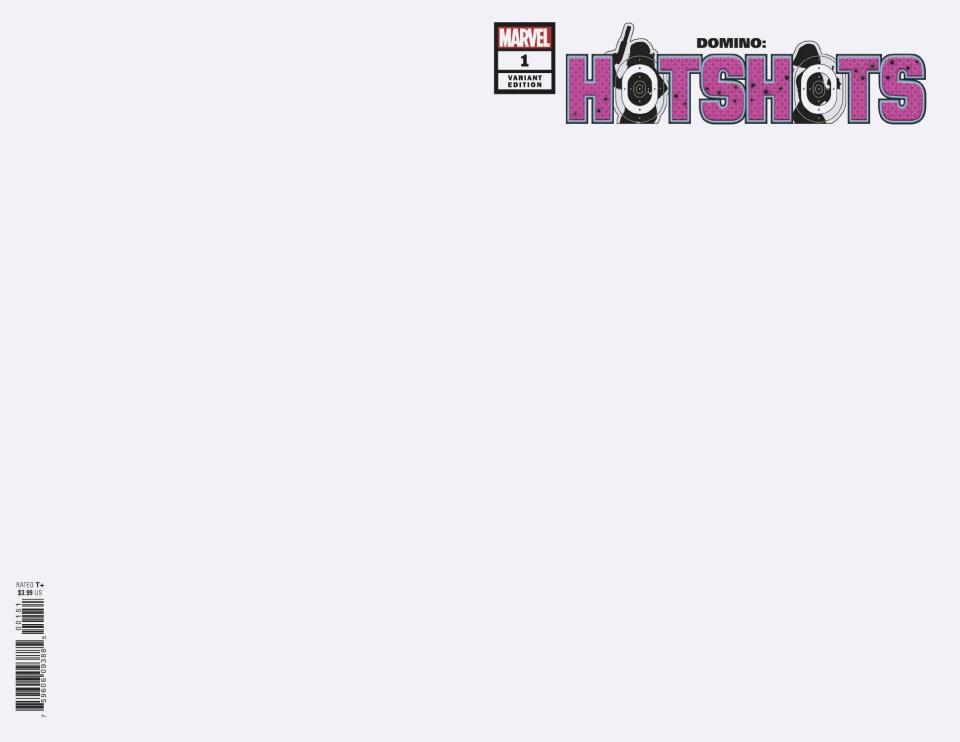 Domino: Hotshots #1 (Blank Cover)