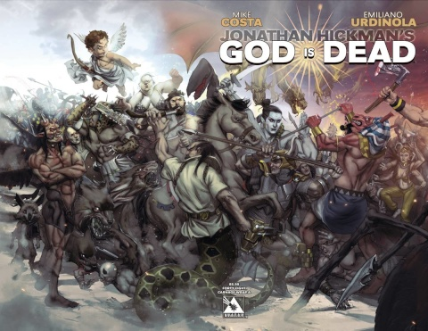 God Is Dead #48 (Connecting Wrap Cover A)