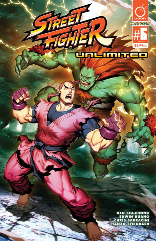 Street Fighter Unlimited #6 (Genzoman Story Cover)