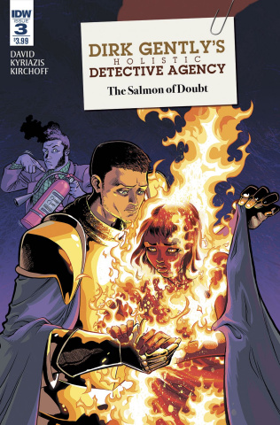 Dirk Gently's Holistic Detective Agency: The Salmon of Doubt #3