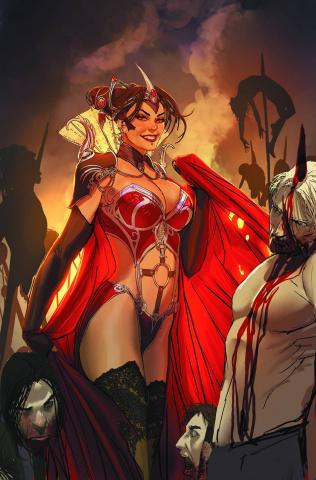 Grimm Fairy Tales: Dark Queen (Sejic Cover)
