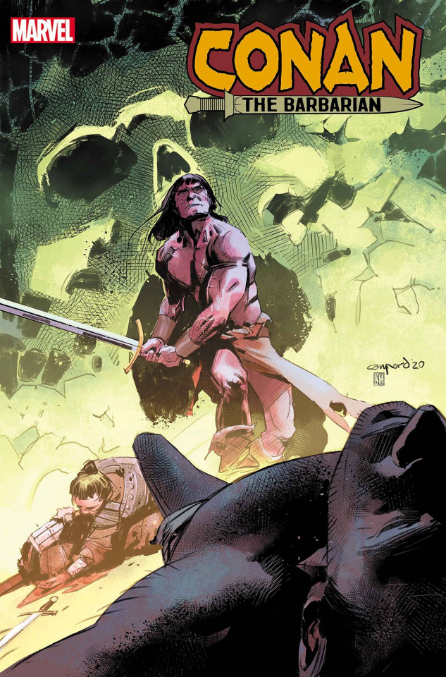 Conan the Barbarian #16 (Nord Cover)