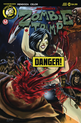 Zombie Tramp #38 (Risque Artist Cover)