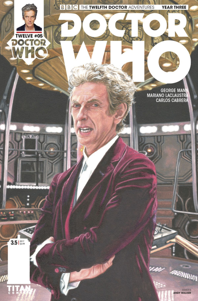 Doctor Who: New Adventures with the Twelfth Doctor, Year Three #5 (Walker Cover)