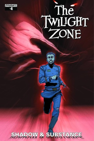 The Twilight Zone: Shadow & Substance #4 (Vilanova Cover)