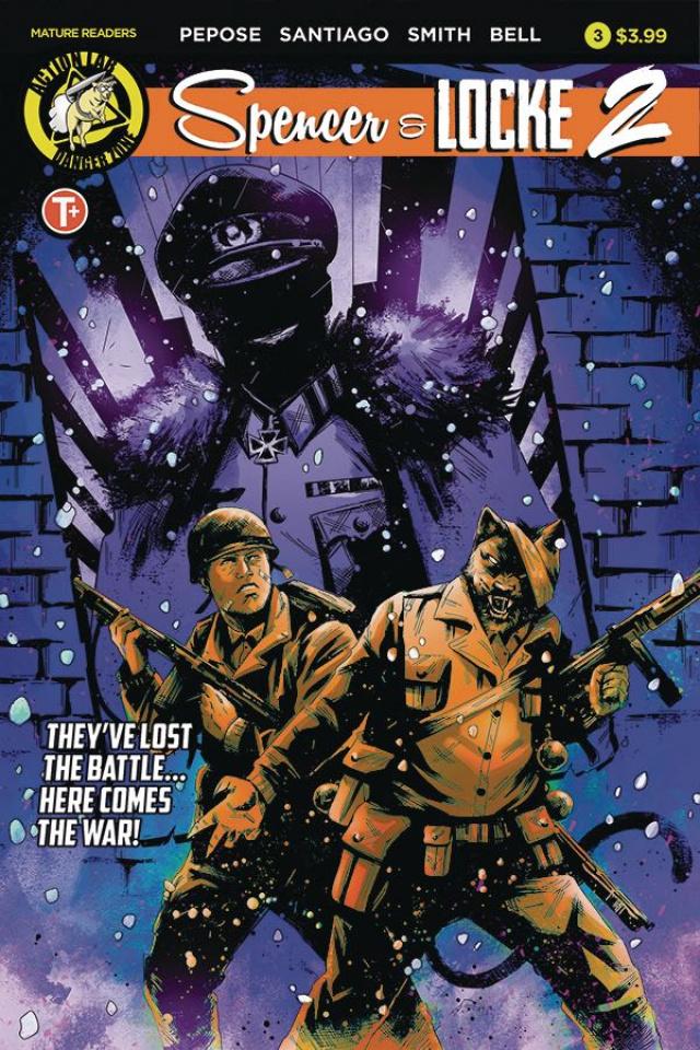 Spencer & Locke 2 #3 (House Cover)