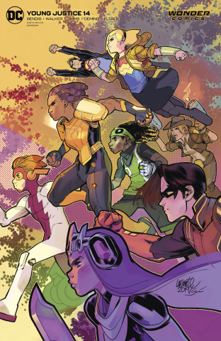 Young Justice #14 (David Lafuente Cover)