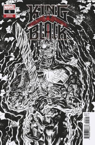 King in Black #5 (Stegman Sketch Cover)