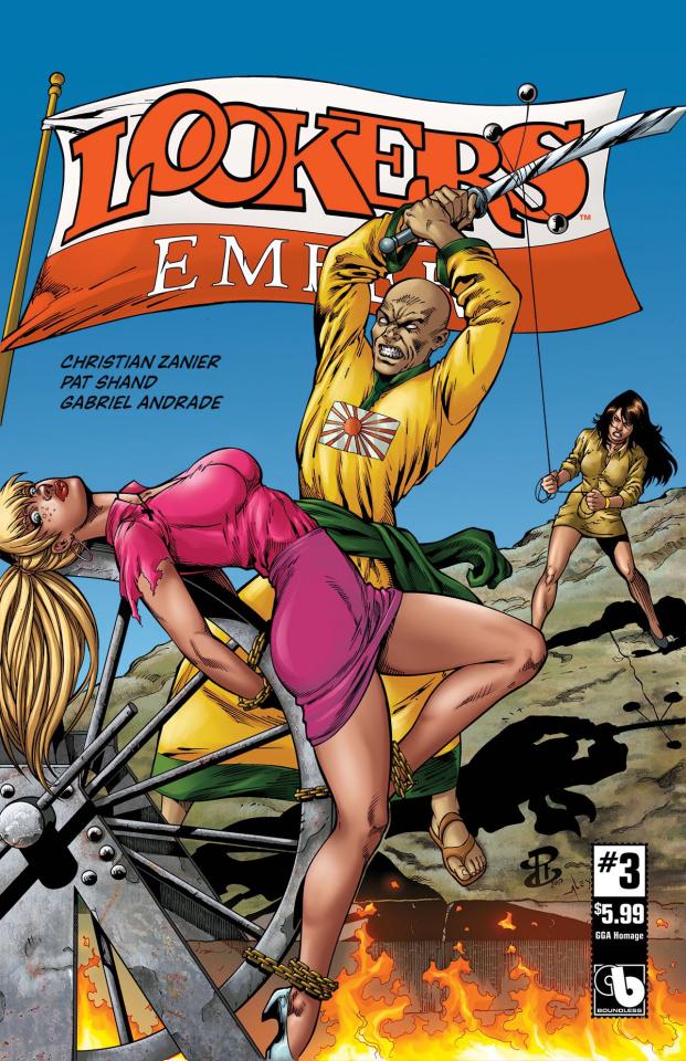 Lookers: Ember #3 (GGA Homage Cover)