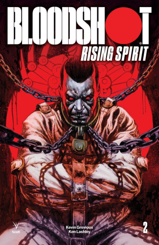 Bloodshot: Rising Spirit #2 (20 Copy Manco Cover)