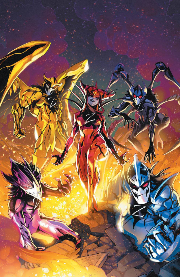 Mighty Morphin' Power Rangers #53 (25 Copy Campbell Cover)