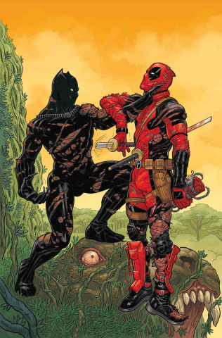 Black Panther vs. Deadpool #2 (Skroce Cover)