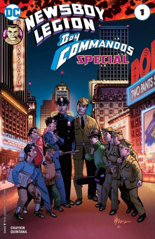 Newsboy Legion & The Boy Commandos Special #1