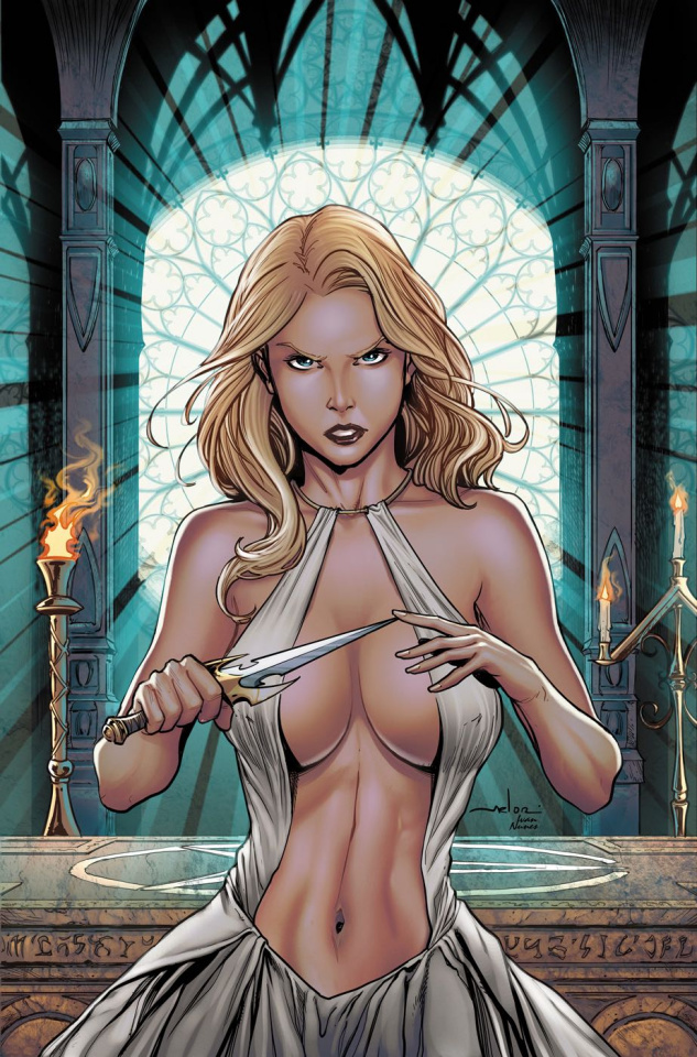 Grimm Fairy Tales: Satan's Hollow #5 (Meloni Cover)