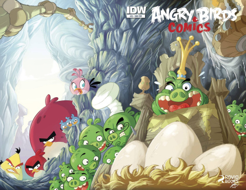 Angry Birds #11 (Subscription Cover)