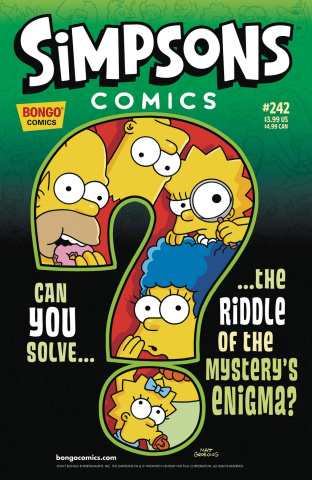 Simpsons Comics #242