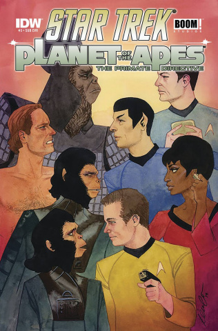 Star Trek / Planet of the Apes #3 (Subscription Cover)