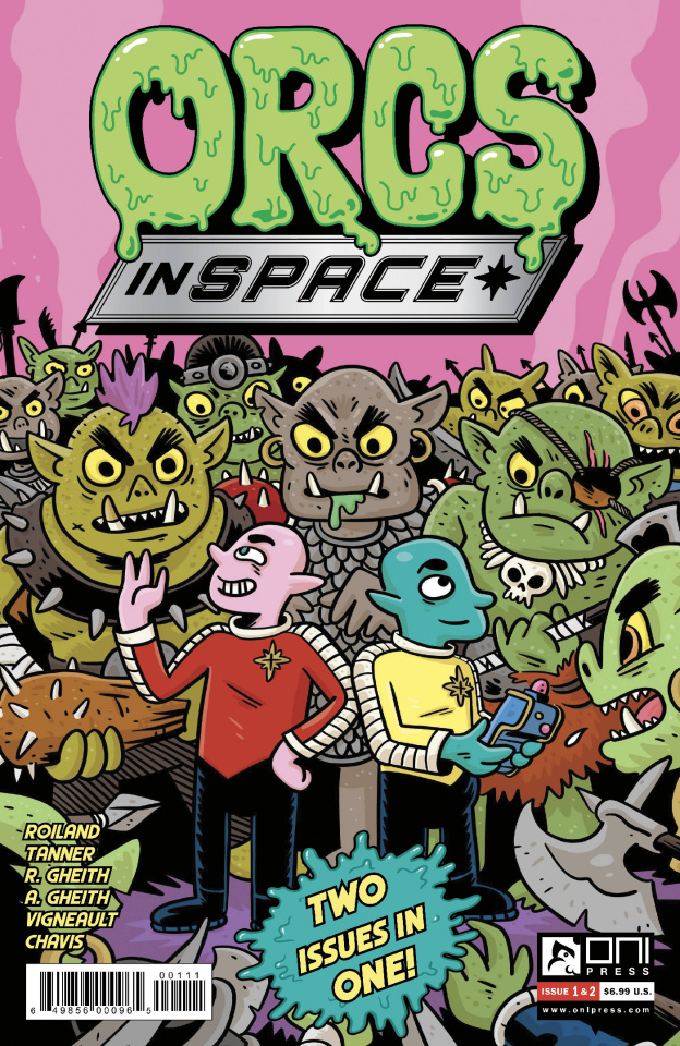 Orcs in Space 2-in-1 (Vigneault Cover)