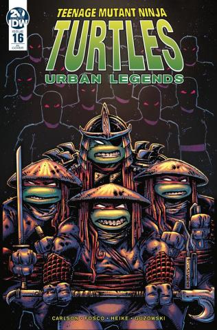 Teenage Mutant Ninja Turtles: Urban Legends #16 (10 Copy Eastman Cover)
