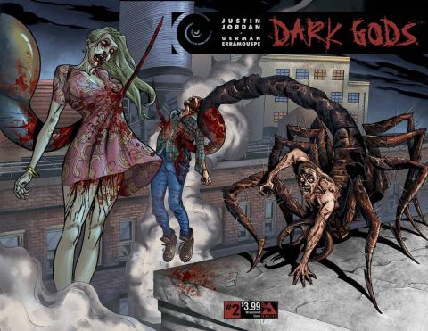 Dark Gods #2 (Wrap Cover)