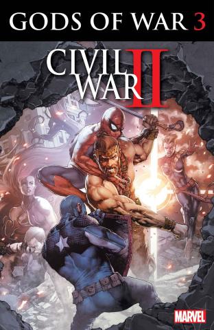 Civil War II: Gods of War #3