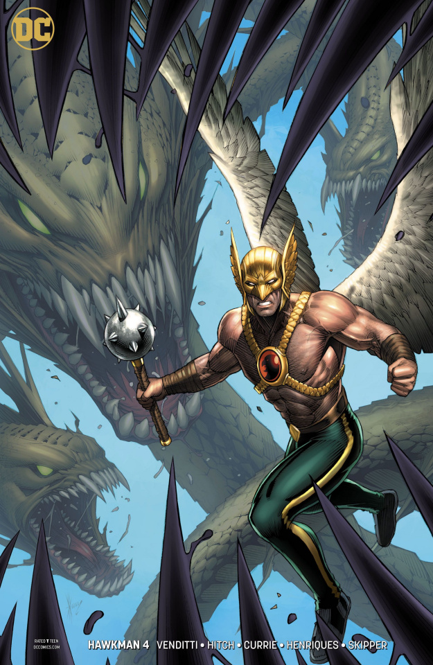 Hawkman #4 (Variant Cover)