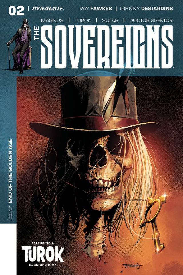 The Sovereigns #2 (Segovia Cover)