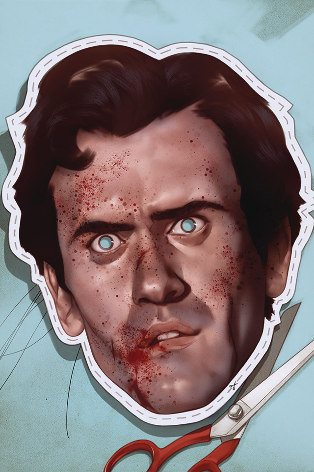 Death to the Army of Darkness #2 (Oliver Virgin Cover)