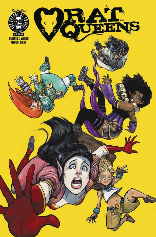 Rat Queens #5 (Gieni Cover)