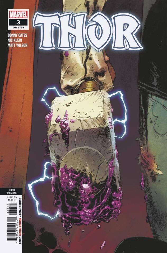 Thor #3 (5th Printing)